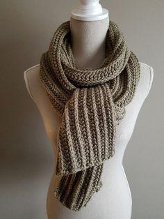 Ravelry: crochet scarf by Joke Decorte Crochet Scarves, Crochet Shawl, Knit Crochet, Ravelry Crochet, Vest Pattern, Knitted Blankets, Mittens, Knitting Patterns, Handmade