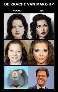 Wat make up wel niet kan doen.......