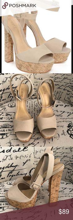 "Schutz Amatista platform pump shoes 10 Beautiful Schutz platform pumps nude size 10. Made in Brazil. Brand new without box. Must have in ur closet:) 5.5"" heel 1.5 platform SCHUTZ Shoes Platforms"