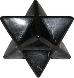 On Sale Now through 8/19/16!  Ancient Shungite in the ancient merkaba form - powerful! Free shipping on domestic orders over $50.