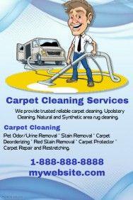 Carpet Cleaning flyer sample | Business - Marketing ideas | Pinterest