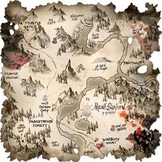 Warhammer - Orc map