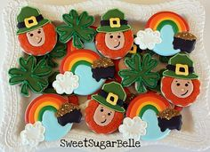 #sweetsugarbelle st patrick's day cookies.  love her.