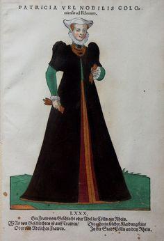 JOST AMMAN - HANS WEIGEL - ANNO 1577 - PATRICIA VEL NOBILIS COLOniensis ad Rhenum http://www.laboramedia.com/ebay/M992TrachtKoelnGalerie.jpg