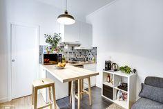 Un studio de 20,47m2 restructuré pour la location à Paris, , Ever Invest - architecte d'intérieur