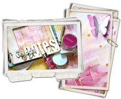 """Atelier Version Scrap Paris 2014... Zoom sur l'atelier """"Direction Soleil"""" - Les ateliers-scrap de Manuela, avec la Pause Créative"""
