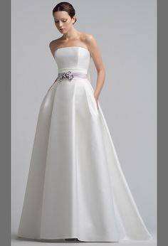 Свадебное платье стильное с оригинальной юбкой | Stylish wedding dress with the original skirt