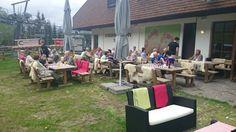 Erste Almrausch-Wanderung zur Strohsackhütte - hausgemachtes Gulasch für die fleißigen Wanderer www.almrausch.co.at