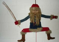 Santa #jumping jack: http://www.1-2-do.com/de/projekt/Weihnachts---Hampelmann-angezogen/bastelanleitung-zum-selber-basteln/10915/