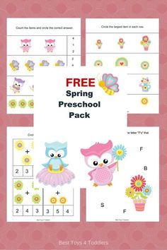 Task Shakti - A Earn Get Problem Best Toys 4 Toddlers - Free Spring Printable Pack For Preschool And Kindergarten Preschool Learning Activities, Preschool Printables, Summer Activities For Kids, Toddler Preschool, Preschool Activities, Preschool Curriculum, Preschool Kindergarten, Homeschooling, Teaching Ideas