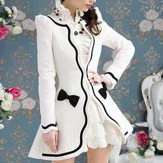 Elegant Wool Blend Coat