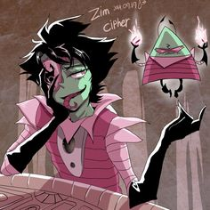 zim cipher by ohthree on DeviantArt