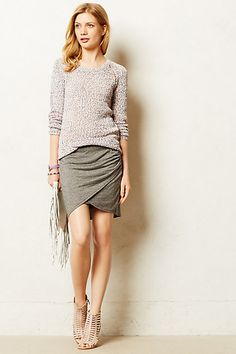 Bella luxe Jersey Tulip Skirt - anthropologie.com