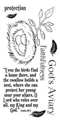 Even the birds find a home there, and the swallow builds a nest, where she can protect her young near your alters. O Lord who rules over all, my King and my God Psalm Additional words: faithfulne Scripture Art, Bible Art, Bible Verses, Psalm 84, Bibel Journal, Bible Study Journal, Art Journaling, Inspirational Bible Quotes, Finding God