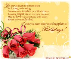 Birthday Wishes For Your Friends And Family Women Religious