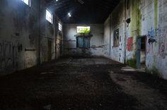 Bracciano, an abandoned factory