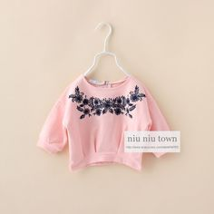 00067 TJ-6J2519 Free shipping 6 pcs/lot Wholesale Short-color T-shirt embroidered tops for girls aged 2-6 2014 New http://www.aliexpress.com/store/1047972