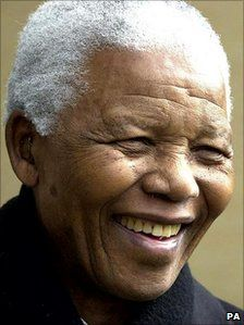 Rest in Peace Madiba! Nelson Mandela smile!