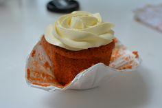 Thai Iced Tea Cupcakes