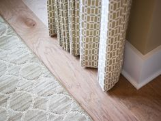 Take a peek at the engineered hardwood flooring and neutral textiles featured in the HGTV Smart Home 2014 located in Nashville, Tenn. Hgtv Dream Homes, Curtain Length, Small Closets, Closet Rod, Bedroom Pictures, Engineered Hardwood Flooring, Smart Home, Family Room, Living Spaces