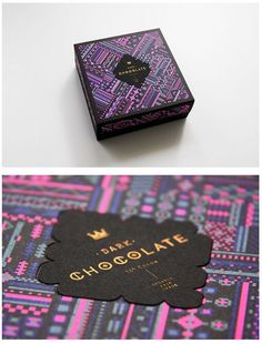 BLOW: Polytrade Paper Packaging Indulgent/royal font for chocolate