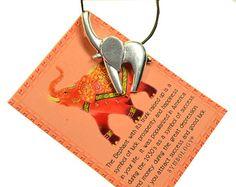 Lucky Elephant Necklace  N10258