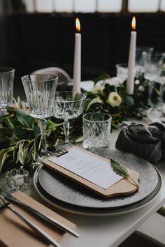 CHIC STORBYBRYLLUP | Unik Serviceudlejning - A table story