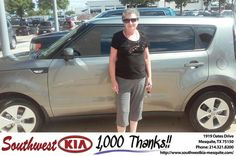https://flic.kr/p/vQ6shK | #HappyBirthday to Patricia Morgan from Mike  Stanton at Southwest Kia Mesquite! | www.southwestkia-mesquite.com/?utm_source=Flickr&utm_...