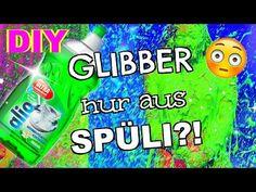 DIY GLIBBI SCHLEIM aus SPÜLI und SALZ I Slime OHNE Kleber und Waschmittel Basteln Anleitung - YouTube