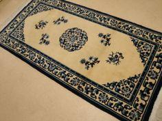 Original handgeknüpfter China Peking Designer Teppich 1.87 x 0.93 m Läufer