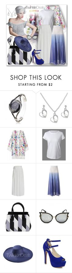 """summer look"" by ane-twist ❤ liked on Polyvore featuring Fall, dress, plussize, twinkledeals and Dressunder50"