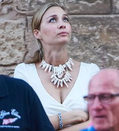 Beatrice Borromeo attend the 35th Copa del Rey Mapfre Sailing Cup (King's Cup) www.newmyroyals.com