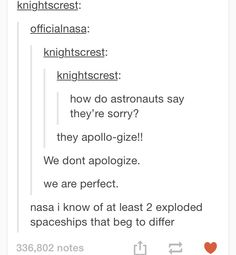 #tumblr #humor #nasa