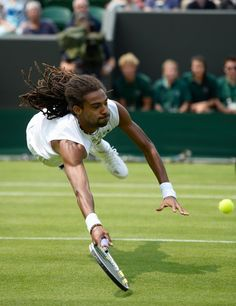 LOVE GRASS Dustin Brown ~ diving and rolls.