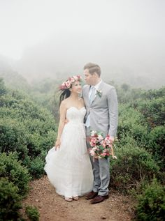 Don't let a misty morning get you down on your wedding day! Here's why: http://www.stylemepretty.com/2015/09/02/quick-tip-misty-morning-photographs/ | Photography: Coco Tran - http://www.cocotran.com/