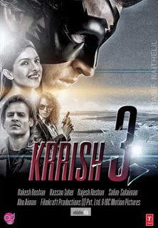 Krrish 3 (2013) Movie information, Track List, Trailer, Video Songs