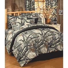 Mossy Oak Treestand Camo Bedding - for spring cleaning!
