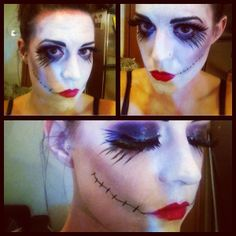 Corpse Bride Halloween Tutorial! By MOI :)