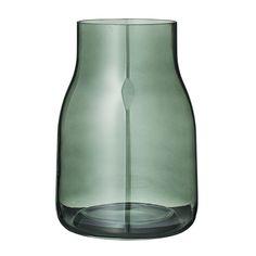 Bloomingville Vase 23cm, Vert Foncé, Bloomingville