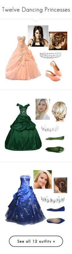 """Twelve Dancing Princesses"" by tinkerbell06 ❤ liked on Polyvore featuring Bling Jewelry, Marc Jacobs, FairOnly, Miss Sixty, Kate Marie, Topshop, Oscar de la Renta, Carlo Pazolini, Justin Bieber and A.N.A"