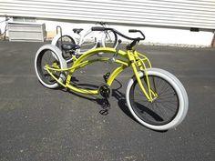 Bike Kustom, Custom Bikes, Cool Bikes, Cycling, Motorcycle, Pedal Car, Motorized Bicycle, Vehicles, Bicycles