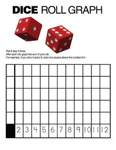 I really like this activity because it can be help students to use the dice with addition and as a game. I would have students play this in groups.