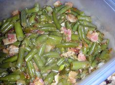 Creole Green Beans. Photo by JackieOhNo!