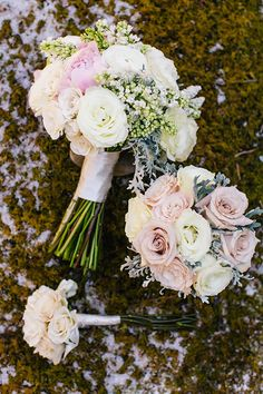Blush and White Wedding Bouquet | Brides.com