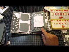 Mini Books Cricut Cartridge -cute music album