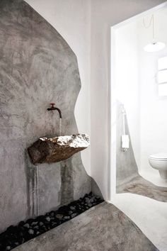 JUST WOW - stunning carved rock basin design - Internorm...x
