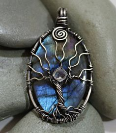 Moon Glow Jewelry: Tree of Life Pendant