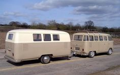 VW bus Trailer