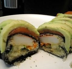 Must try sushi recipe, you wont even notice the rice is gone!