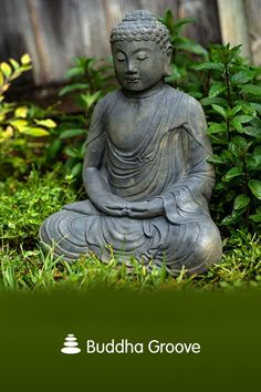 Bring a little zen to your outdoor space with this meditating Buddha statue. Serene stonewashed finish will age beautifully outdoors. Meditation Garden, Buddha Meditation, Meditating Buddha Statue, Buddha Statues, Outdoor Gardens, Landscape Design, Buddha Garden, Ponds, Balcony